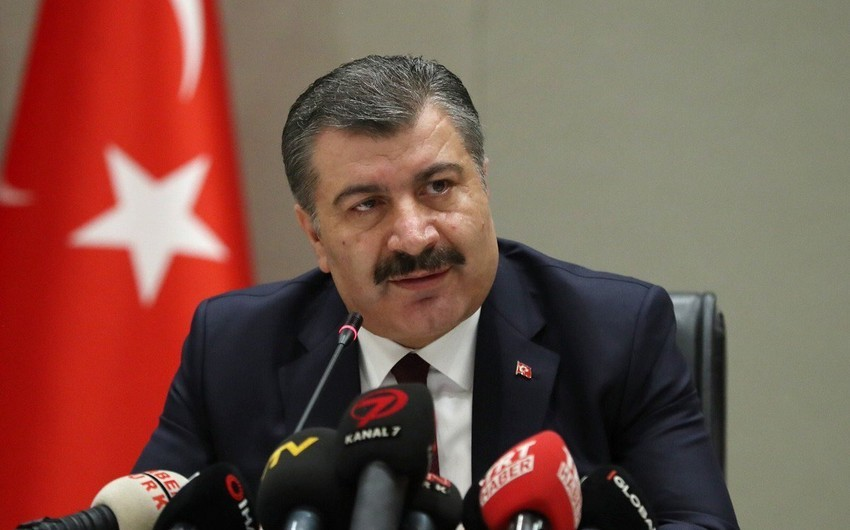 """Fahrettin Koca: """"Qardaş Azərbaycanın yanındayıq"""""""