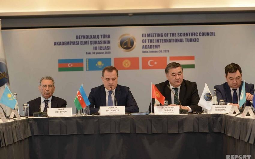 Beynəlxalq Türk Akademiyasının Elmi Şurasına sədrlik Azərbaycana keçib