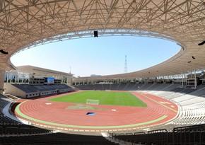 Respublika stadionunda ot örtüyünün təmirinə başlanıldı