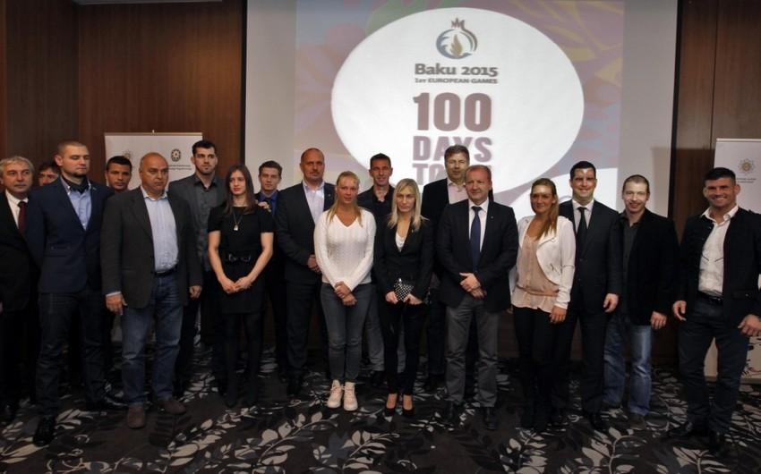 """Macarıstanda """"Bakı-2015: Açılışa 100 gün qalmış"""" adlı təqdimat mərasimi keçirib"""