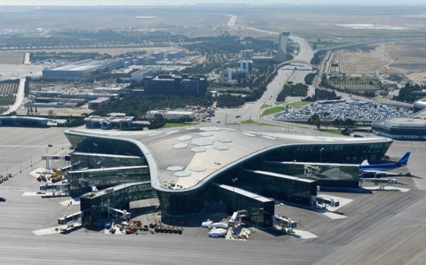 Məlumat Bürosu: Bakı aeroportu normal qaydada işləyir