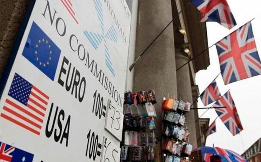 Britaniya funtu Brexit sorğusu nəticəsində kəskin düşüb
