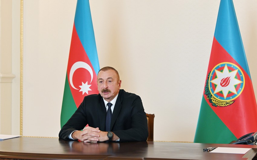 """İlham Əliyev: """"Ermənistan generalları tuşonka satan, əsgərin payını satan oğrudurlar"""""""