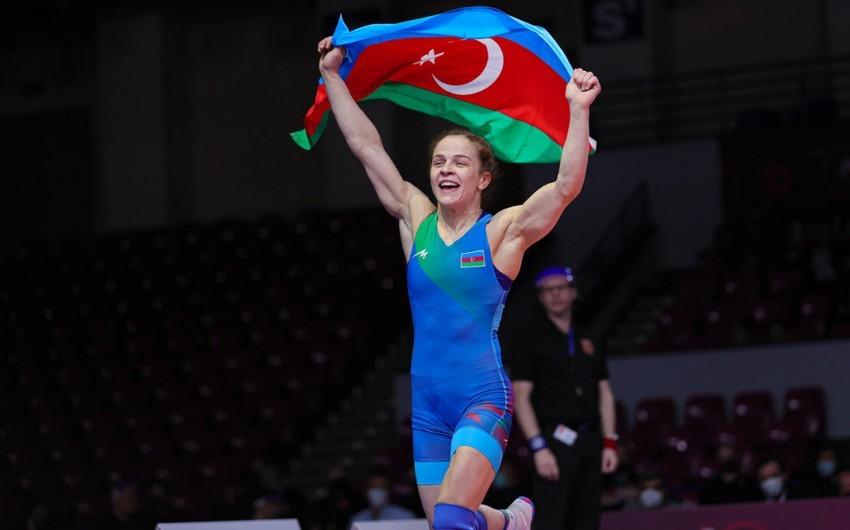Mariya Stadnik qızıl medal qazandı -