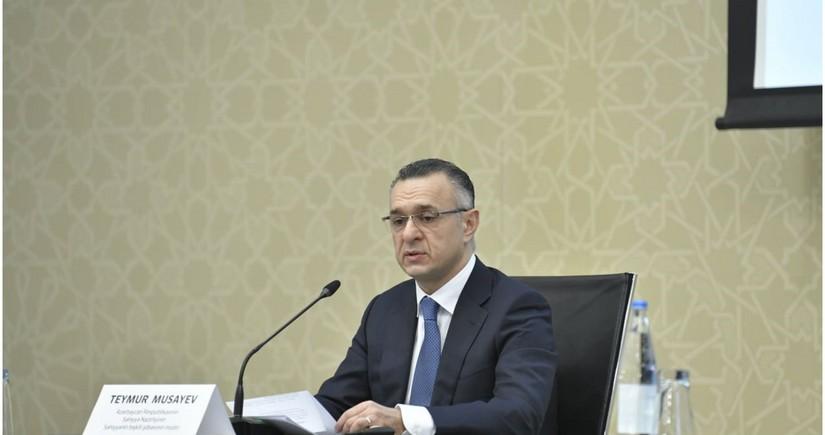 Səhiyyə naziri vəzifəsinin icrası Teymur Musayevə tapşırıldı