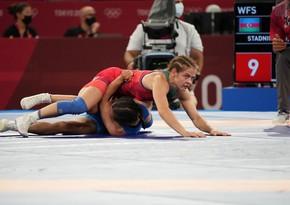 Tokio-2020: Mariya Stadnik yarımfinala yüksəlib
