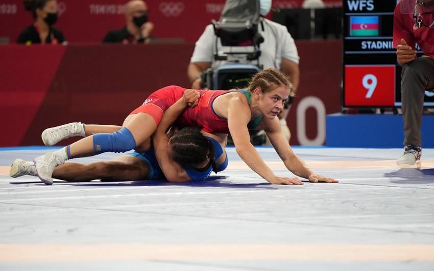 Tokio-2020: Mariya Stadnik finala yüksələ bilməyib