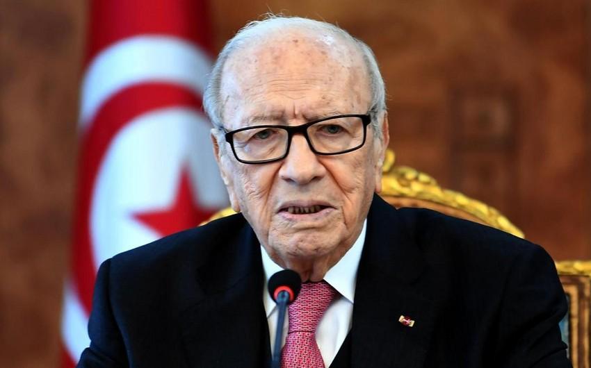 Tunis prezidenti vəfat edib