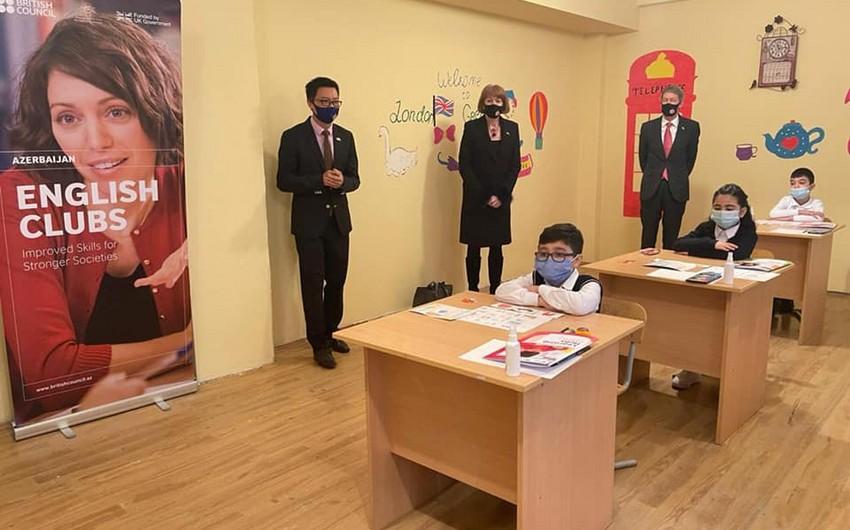 UK minister visits learning hub in Mushvigabad settlement in Baku