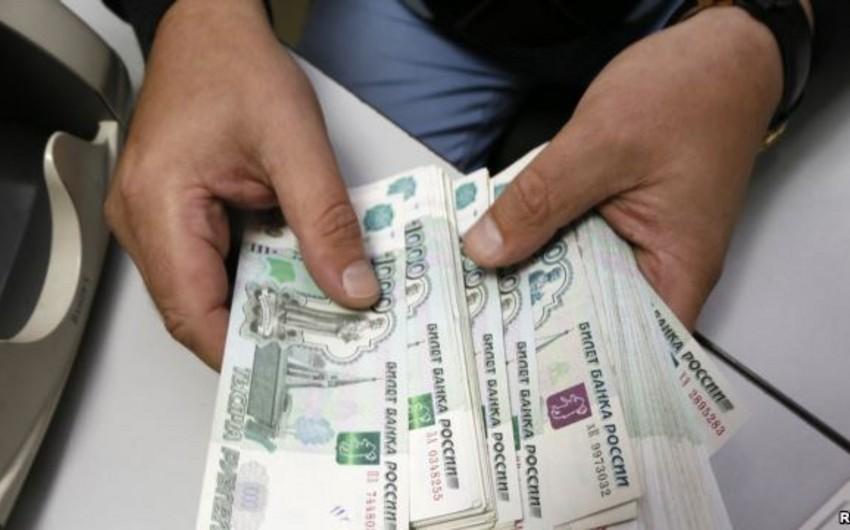 Azərbaycan əhalisinin banklara rubl satışı 10% azalıb