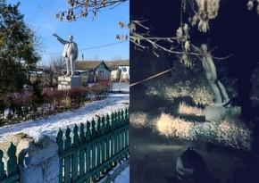 Ukraynada Leninin sonuncu heykəlini söküblər