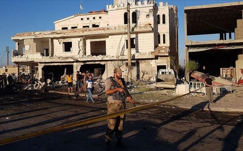 Suriyada terror aktında 5 nəfər ölüb, 85 nəfər yaralanıb