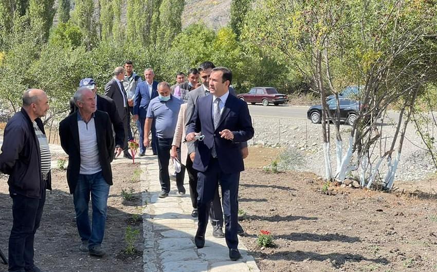 Lahıcda kənd turizmi inkişaf etdirilir