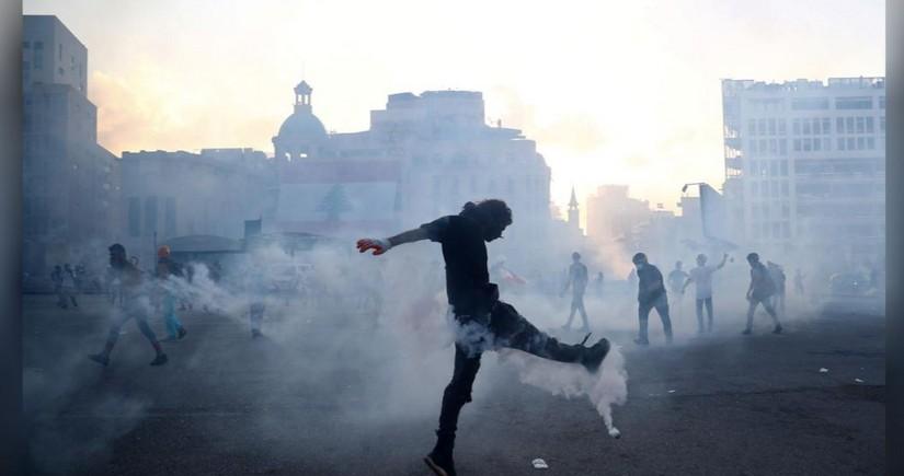 В Бейруте протестующие заняли здания трех министерств
