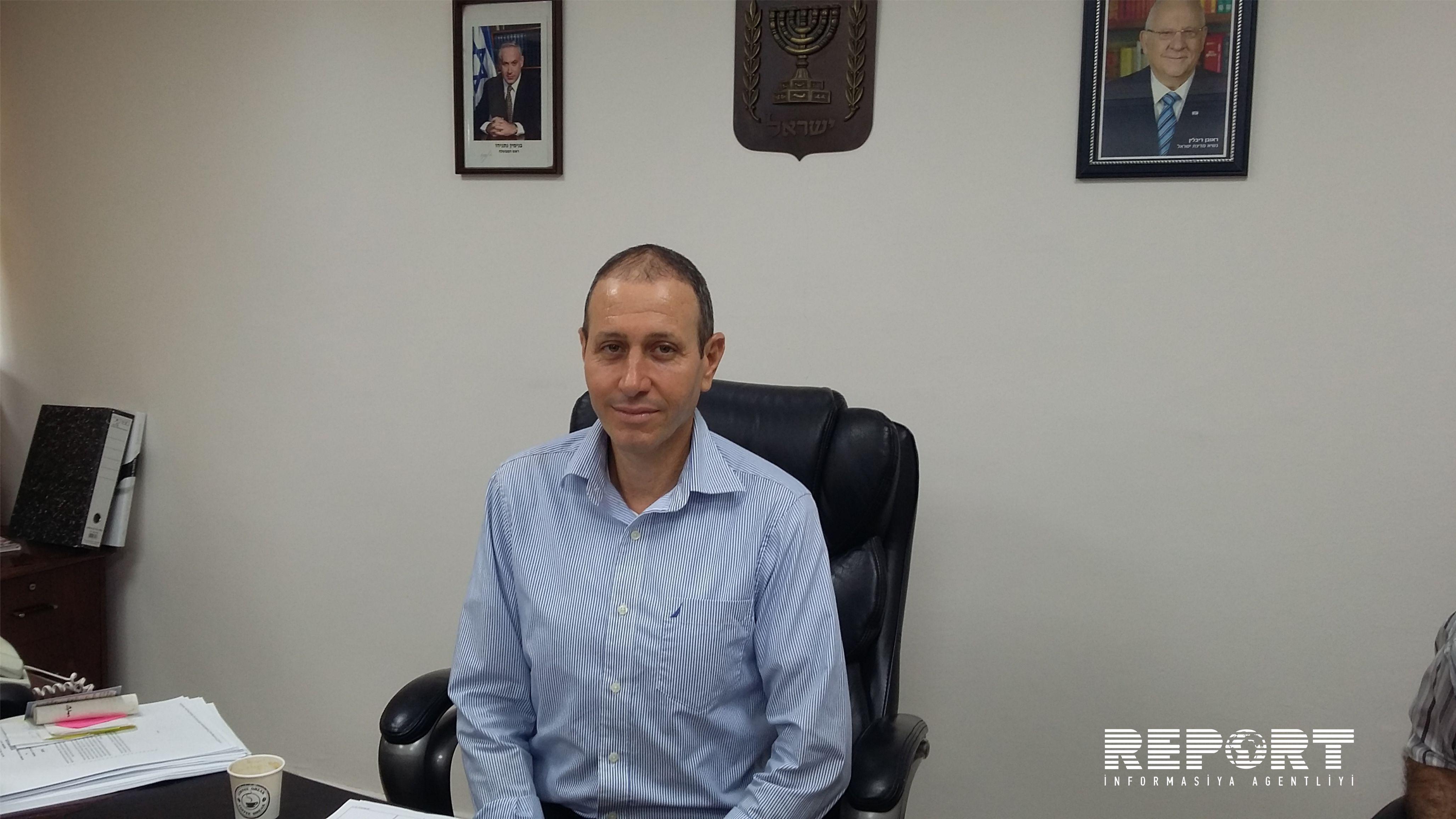 Мэр Акко: Никакие угрозы армян не могут повлиять на  мою позицию по отношению к Азербайджану