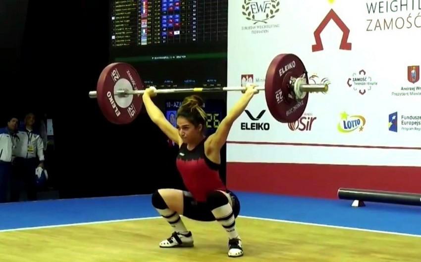Azərbaycanın ağır atletika üzrə millisi Avropa birinciliyində ilk medalını qazanıb