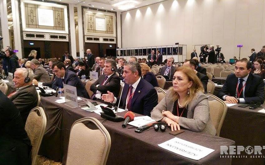 Azərbaycanlı deputatdan NATO PA prezidentinə: Ermənistan işğalçı dövlət ola-ola nə haqla burada iştirak edir və suallar verir?