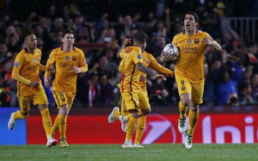 UEFA Çempionlar Liqasında 1/4 final mərhələsinin ilk oyunları keçirilib - VİDEO