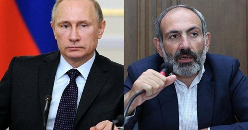 Премьер Армении рассказал о телефонном разговоре с Путиным