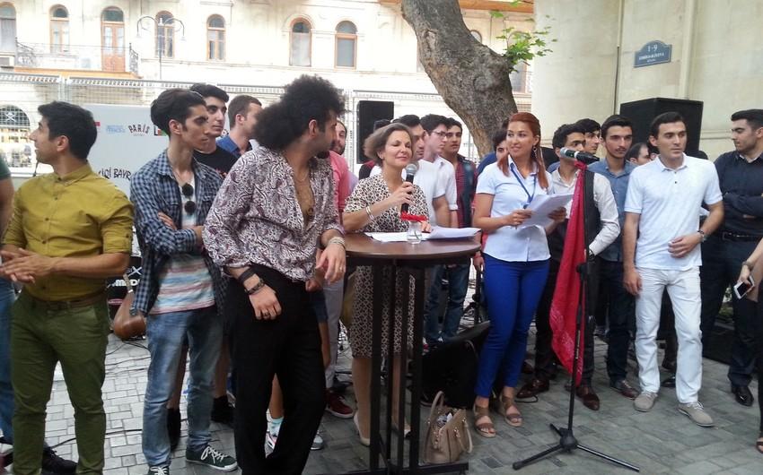 Bakıda Fransa səfirliyi tərəfindən təşkil olunan musiqi bayramı keçirilib