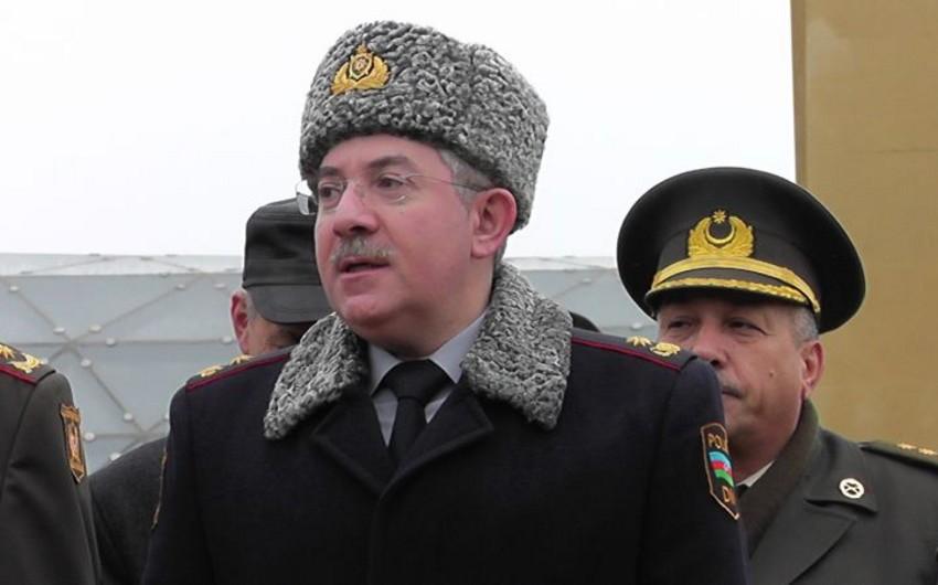 """Polis general-mayoru Həzi Aslanov: """"Bu il narkotiklərlə bağlı 48 cinayətkar qrup zərərsizləşdirilib"""""""