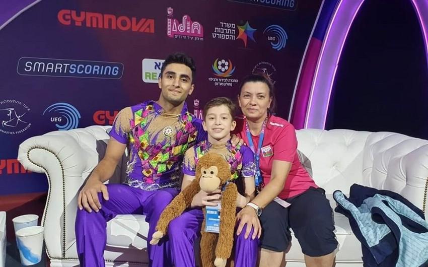 Azərbaycan gimnastları Avropa çempionatında daha 2 medal qazanıb