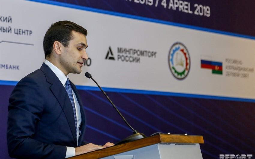 Səməd Qurbanov: Azərbaycan və Rusiya üçüncü ölkələrin bazarlarına birgə çıxmağa hazırlaşır
