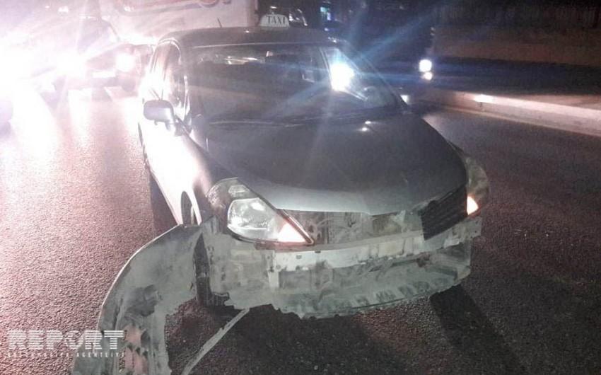 На Московском проспекте столкнулись две машины  - ФОТО