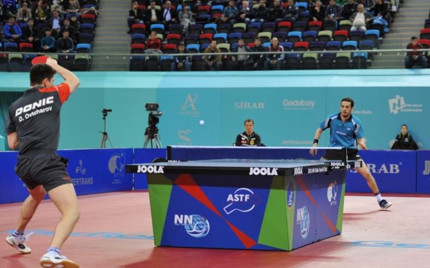"""Stolüstü tennis üzrə Avropa """"Top-16"""" kuboku yarışları başa çatıb"""