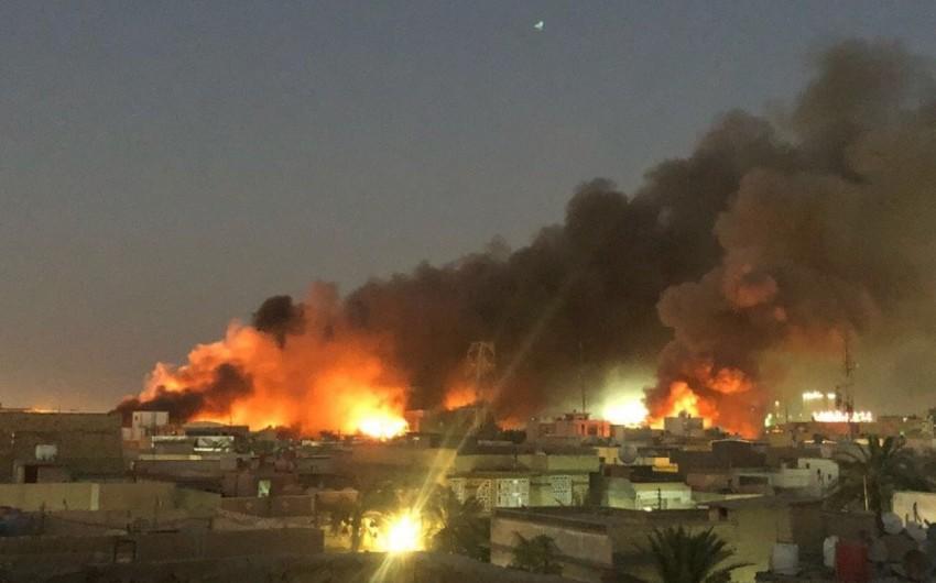 İran İraqdakı konsulluğunun yandırılmasını vandalizm adlandırıb