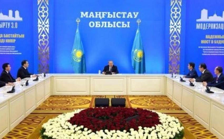 Nursultan Nazarbayev: Azərbaycanla əməkdaşlığın genişləndirilməsi üçün böyük imkanlarımız var