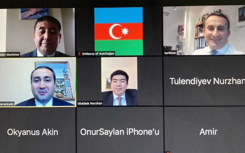 TDƏŞ-ə üzv dövlətlərin ABŞ-dakı konsullarının videokonfransı keçirilib
