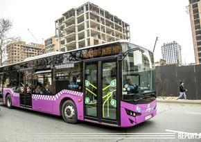 В Азербайджане общественный транспорт не будет работать два дня