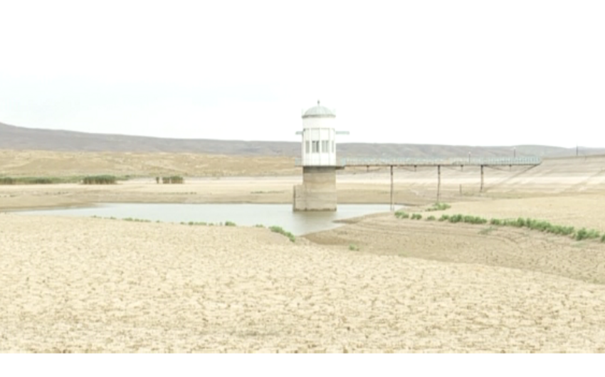Pirsaat su anbarı quruyub, 5 kəndin əhalisi susuz qalıb