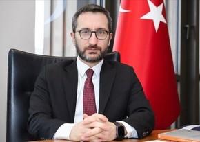 """Fəxrəddin Altun: """"Azərbaycanla həmrəylik bizim milli vəzifəmizdir"""""""