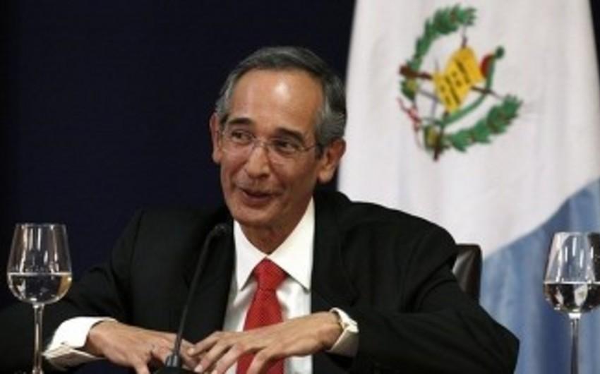 Qvatemalanın keçmiş prezidenti vəfat edib