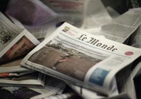Газета Le Monde о мечте переселенцев из Азербайджана вернуться на свои земли
