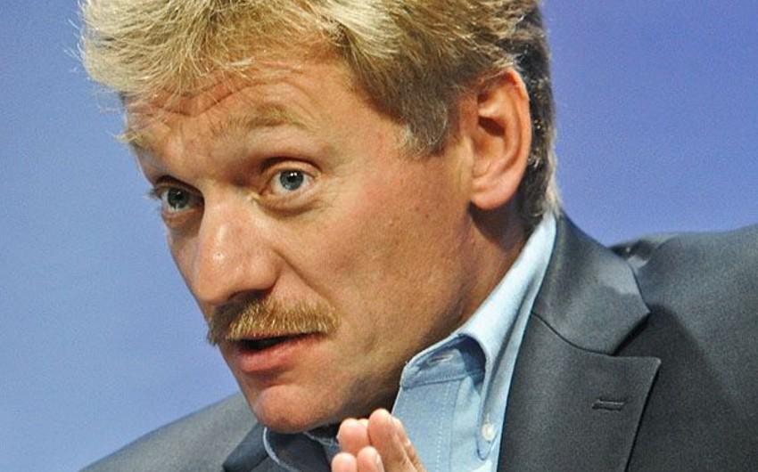 Peskov: ABŞ-ın diplomatik missiyasının hansı əməkdaşlarının Rusiyada işini dayandıracağına Vaşinqton qərar verəcək