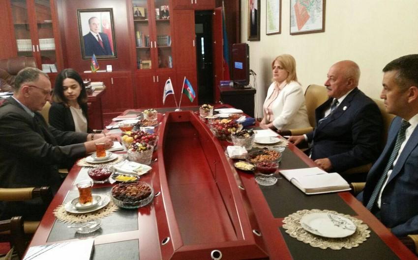 Посол Израиля посетил Масаллинский район
