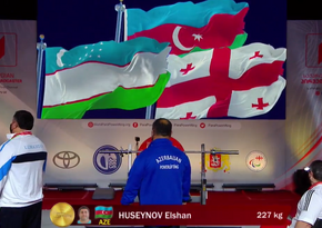 Azərbaycan paralimpiyaçıları Tbilisidə iki qızıl medal qazandı