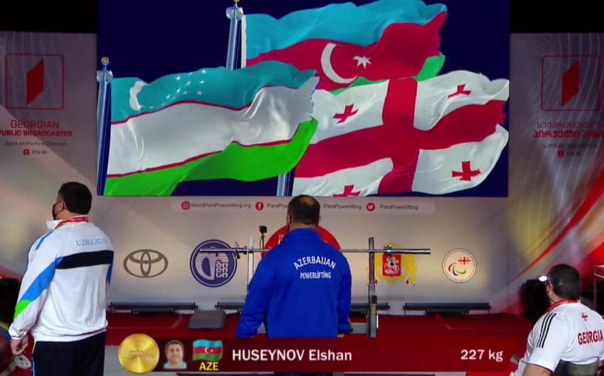 Azerbaijani Paralympic athletes claim two gold medals in Tbilisi