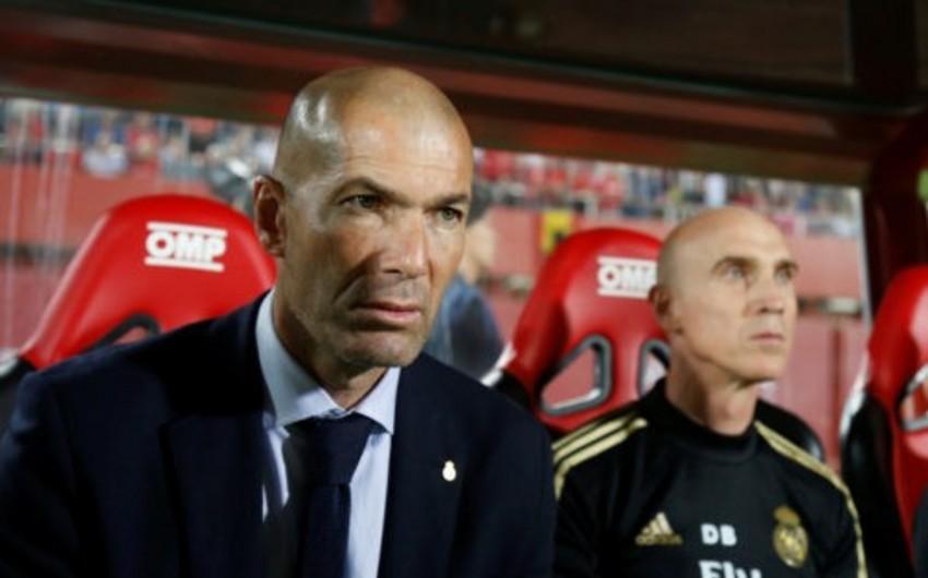 Qalatasaraya məğlubiyyət Real Madridin baş məşqçisi Zidanın qovulmasına səbəb ola bilər