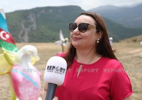 """Braziliyalı jurnalist: """"Cəbrayılda yalnız xarabalıq gördük"""""""