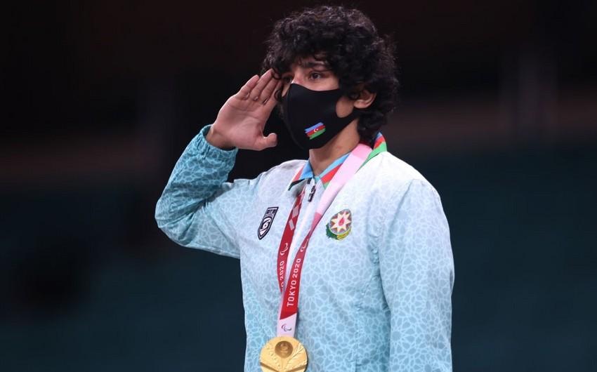 Paralimpiya çempionu olan Azərbaycan cüdoçuları mükafatlandırılıblar