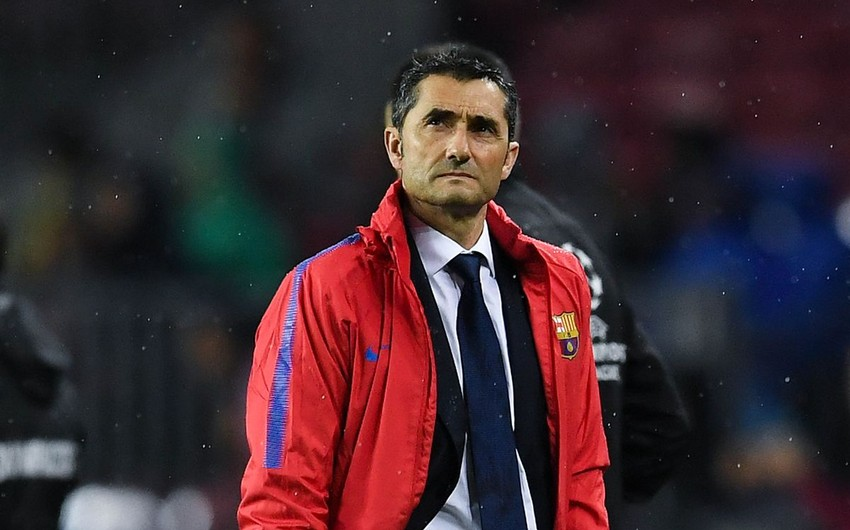 Ernesto Valverde: Belə oyunlarda turnir cədvəli heç bir əhəmiyyət kəsb etmir