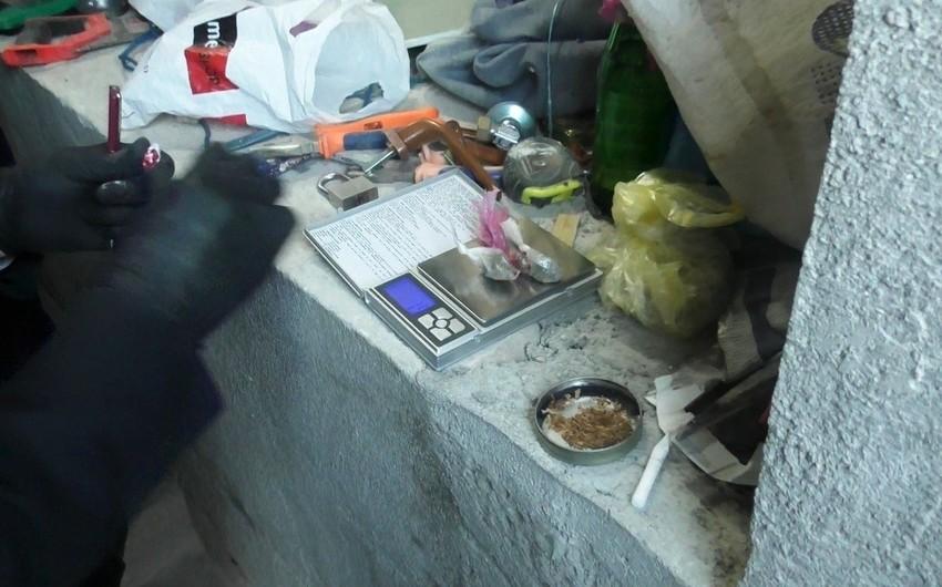 Quba sakininin evindən narkotik götürüldü