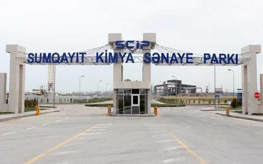 Sumqayıt Kimya Sənaye Parkında yeni rezident qeydiyyata alınıb