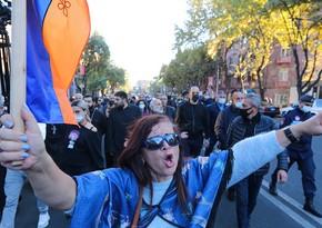У здания парламента Армении начался митинг оппозиции