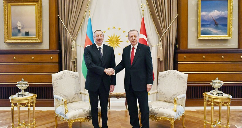 Ilham Aliyev, Erdoğan hold telephone conversation