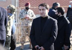 Хикмет Гаджиев: Хотим, чтобы международные организации подготовили отчет с освобожденных территорий